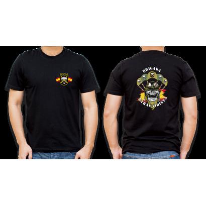 Camiseta Basica Barbaric Negra Bripac