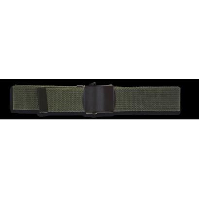Cinto estrecho Verde.Algodon. 130X3