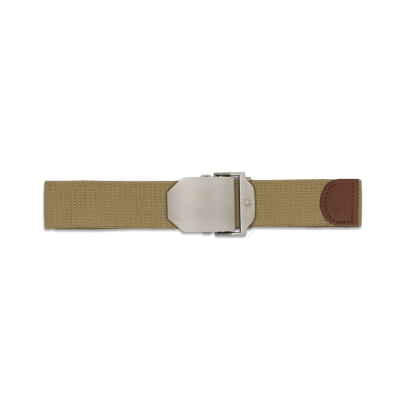 Cinturon Tan hebilla metalica