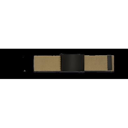 Cinturon Tan hebilla negra