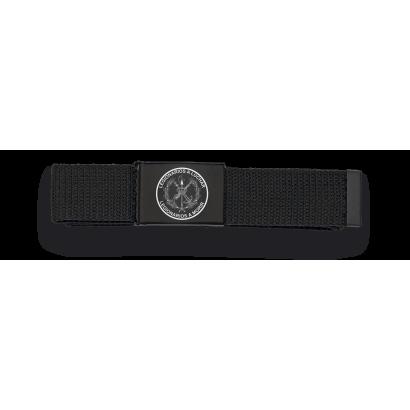 Cinturon negro hebilla negra Legionarios