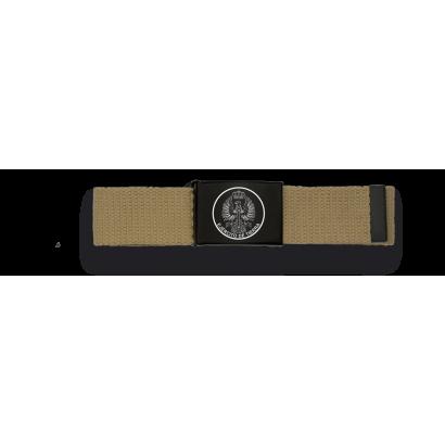 Cinturon TAN hebilla negra E. Tierra