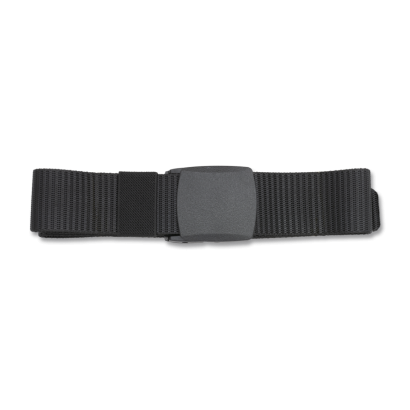 Cinturón 135 cm negro ABS