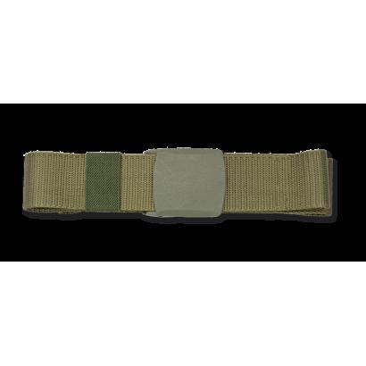 Cinturón 135 cm verde ABS