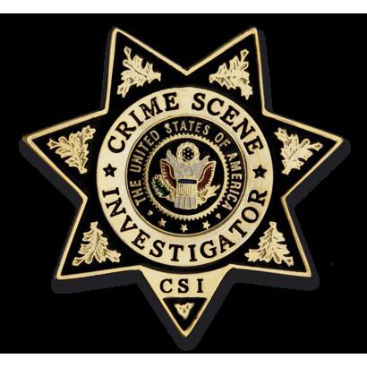 Chapa cartera CSI