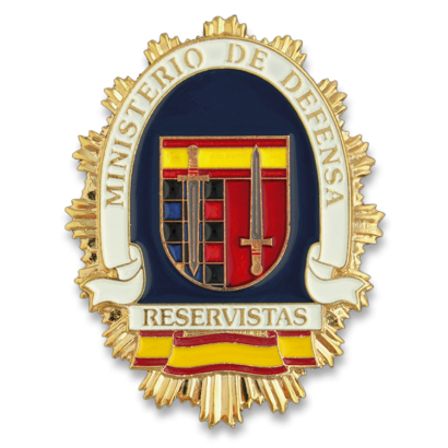 Chapa cartera M. DEFENSA RESERVISTA