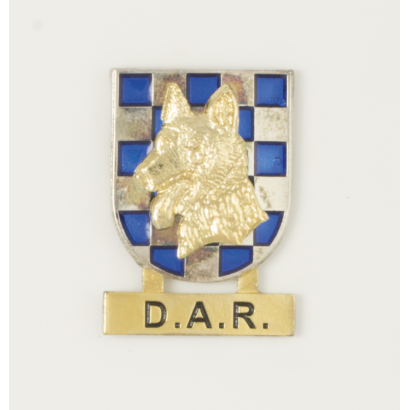 Distintivo guias canino D.A.R.