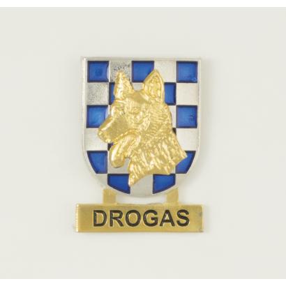 Distintivo guias canino DROGAS