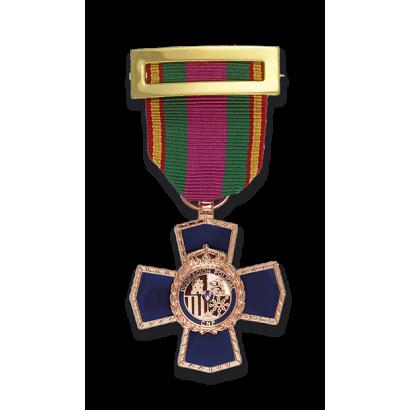 Medalla CRUZ 20 PERMANENCIA POLICIAL