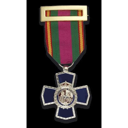 Medalla CRUZ 25 PERMANENCIA POLICIAL
