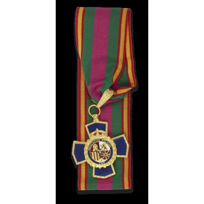 Medalla CRUZ 30 PERMANENCIA POLICIAL