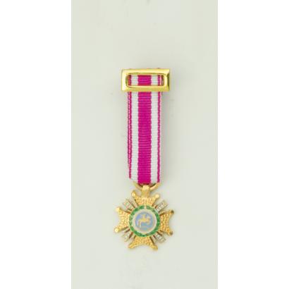 Medalla Miniatura PLACA SAN HERMENEGILDO
