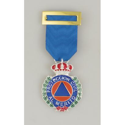 Medalla Merito Prot. Civil Plata Dtvo.