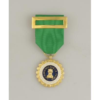Medalla Sufrim. Por La Patria Distin. V.