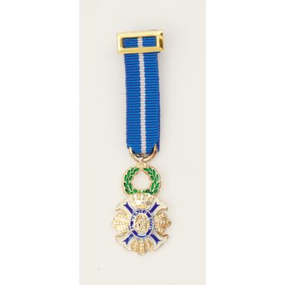 Medalla Miniatura CRUZ MERITO CIVIL