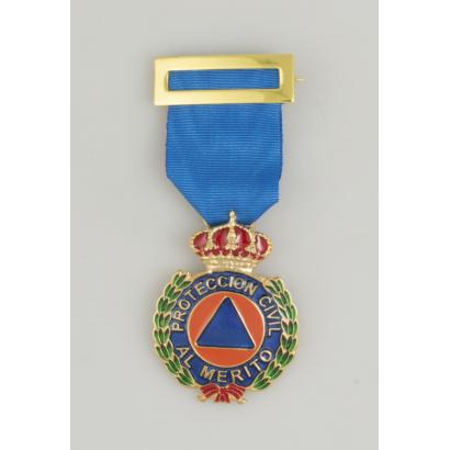 Medalla Merito Pro. Civil Oro Dtvo. Azul