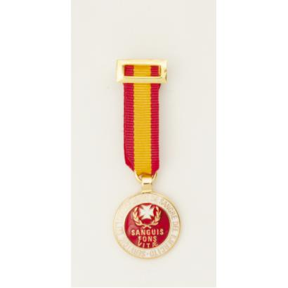 Medalla Miniatura  DONANTE DE SANGRE