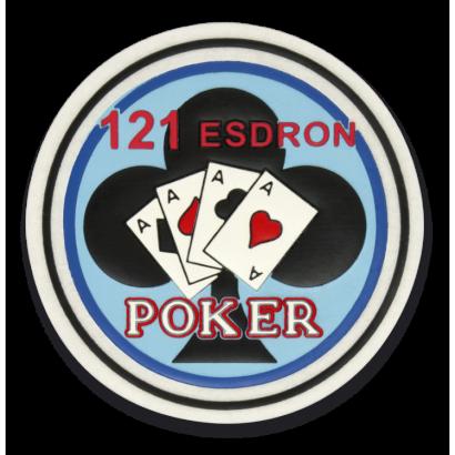 Parche 121 Esdron - Poker
