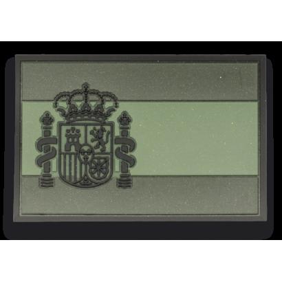 Parche ESPAÑA Verde. (7.4 x 4.9 cm)