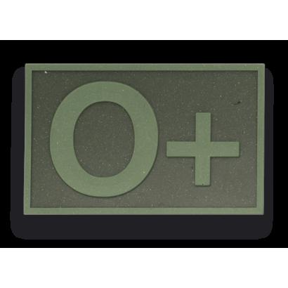 parche goma ( 0 + ) Verde. (5.4 x 3.4 cm