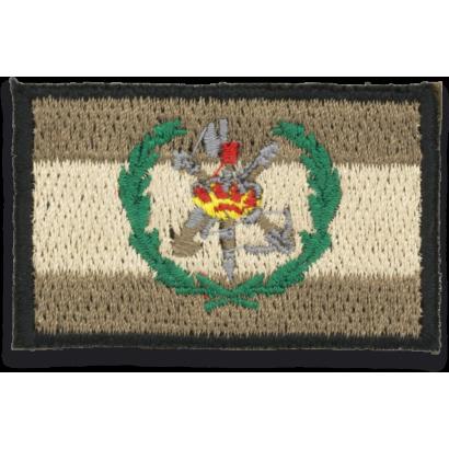 Bandera España gris con logo LEGIONARIOS