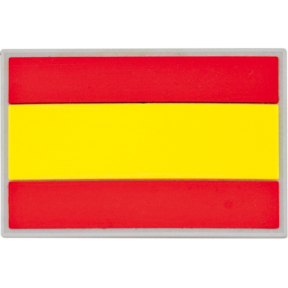 parche España 7.5x5 cm con velcro
