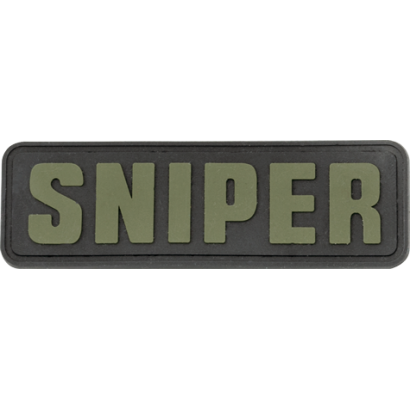 """parche """"Sniper"""" 8x2.5 cm con velcro"""