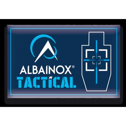 parche Albainox 8.5x5.5 cm con velcro