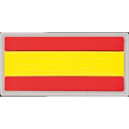 parche España 6x3 cm con velcro