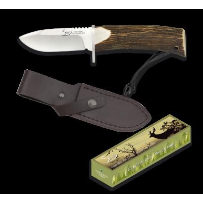 cuchillo ciervo. hoja 8.9 cm. albainox