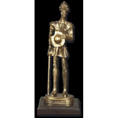 Trofeo resina QUIJOTE con peana (23