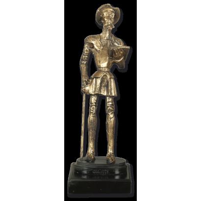 Trofeo resina QUIJOTE con peana (23 cm)