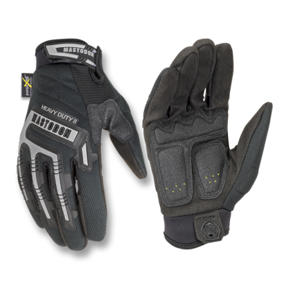 guante negro Mastodon Heavy Duty II. S