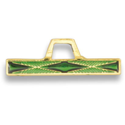 Barra Comienzo Verde Distintivo Montaña