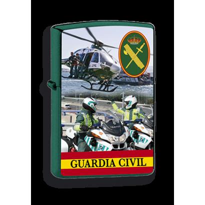 mechero verde Guardia Civil