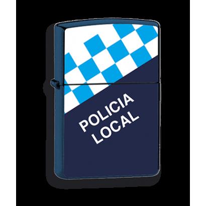 mechero azul Policia Local