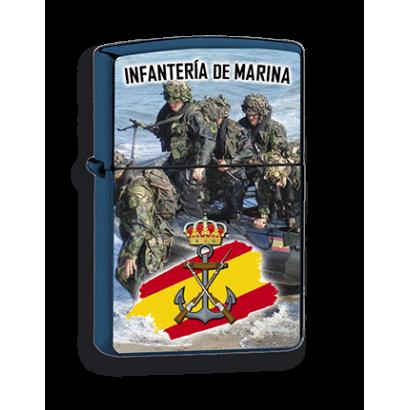 mechero azul Infanteria Marina