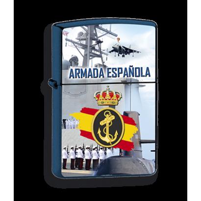 mechero azul Armada Española