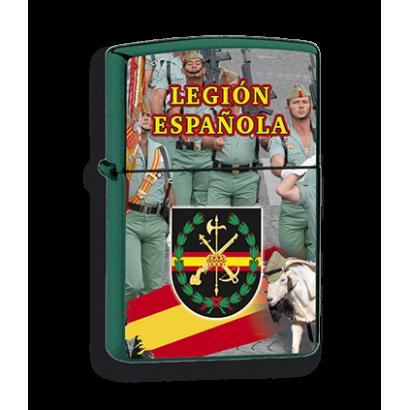 Mechero verde Legión
