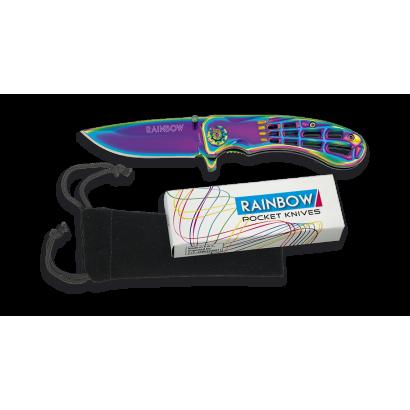 Navaja Rainbow Telaraña  FOS Hoja: 7 cm