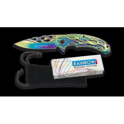 Navaja Rainbow FOS llamas.8