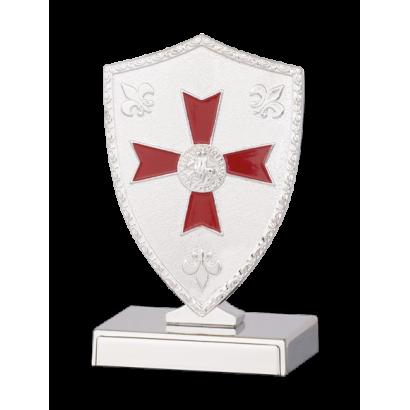 Display forma Escudo Templario.