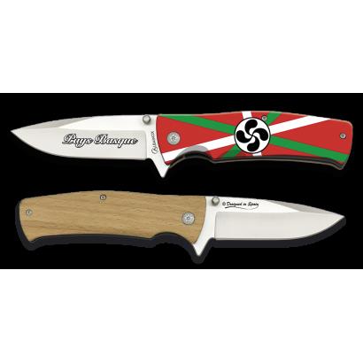 Navaja 3D bandera Pays Basque. Hoja: 8.8
