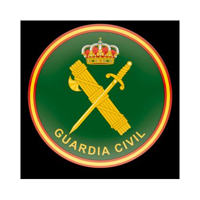 Imán frigo redondo Guardia Civil  diam:5
