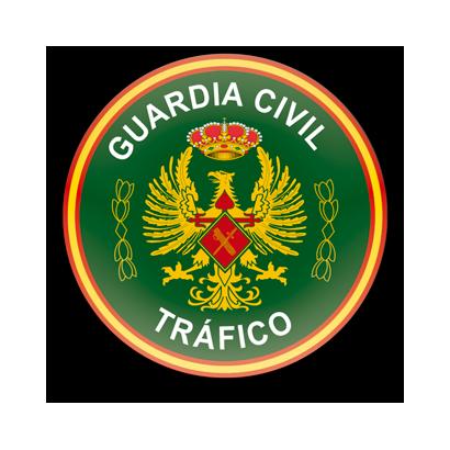Imán frigo redondo Guardia Civil Tráfico