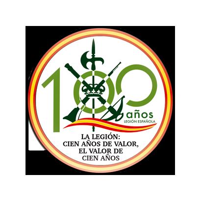 Imán frigo redondo Legión centenario
