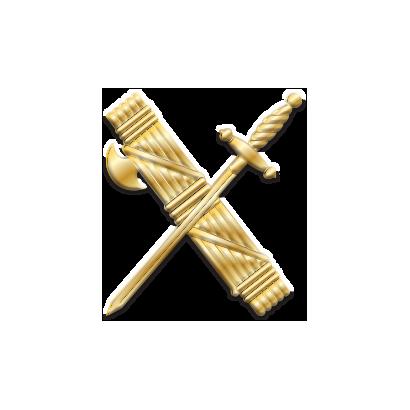 pin Guardia Civil 1.9 x 1.6  cm