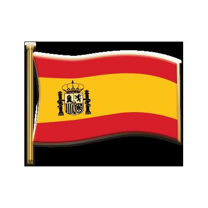 pin bandera España Constitucional