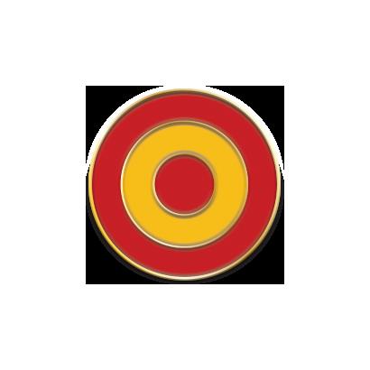 pin España diana 1