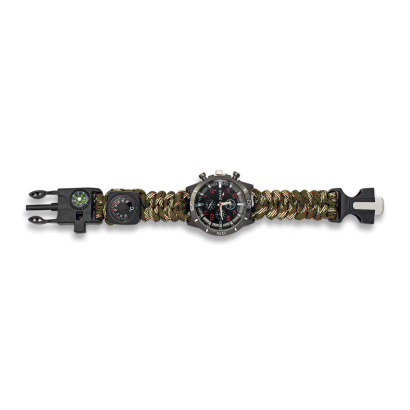 Reloj tactico Supervivencia Camo